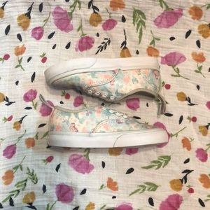 e9d29e44e69237 Vans Shoes - Little girl vans with mermaids